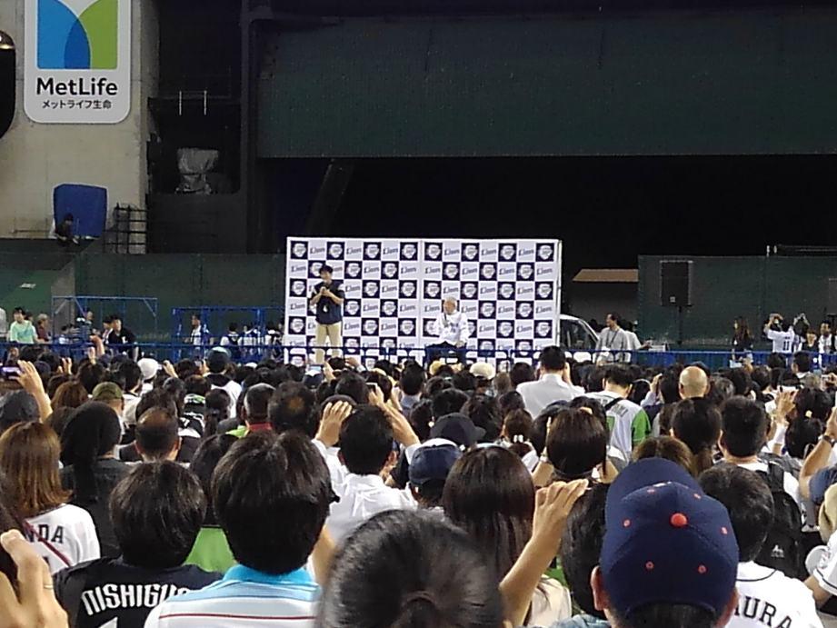野村さんのトークショー